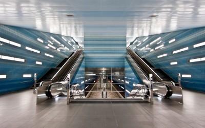Leuchtstoff: Selbsterfahrung in der Hamburger U-Bahn