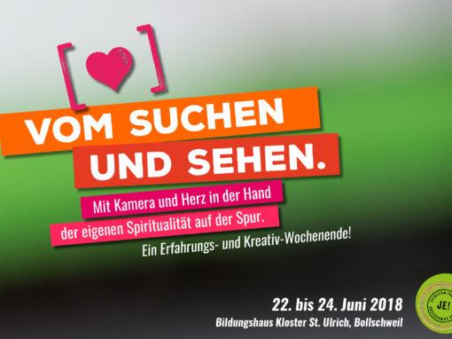 VOM SUCHEN UND SEHEN. Ein Erfahrungs- und Kreativwochenende in Freiburg